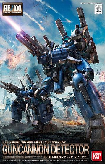 "Guncannon Detector ""Gundam UC"", Bandai RE/100"