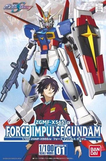 "#1 Force Impulse Gundam ""Gundam SEED Destiny"", Bandai 1/100 SEED"