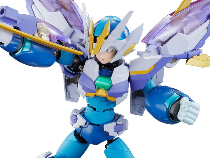 "Megaman X Giga Armor X Ver. Kanetake Ebikawa ""MEGAMAN X"", Bandai Chogokin"