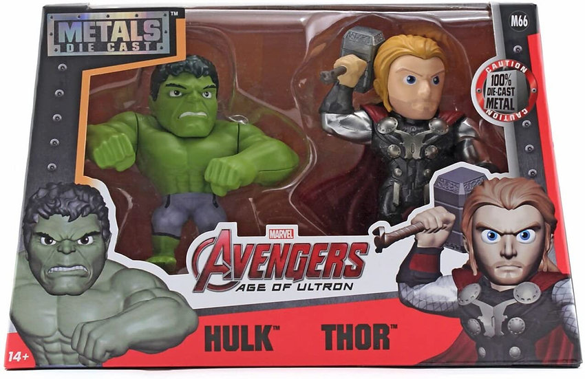 hulk y thor jada toys 4 pulgadas