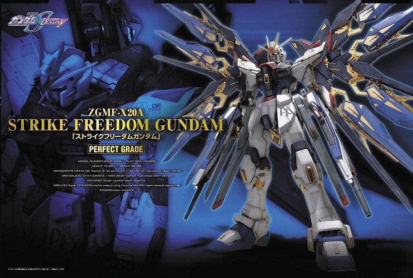 "Strike Freedom Gundam, ""Gundam SEED Destiny"" Bandai PG 1/60"