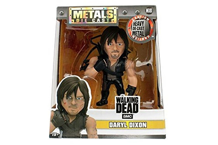 The Walking Dead Daryl Jada toys, 100% metal 13 cm