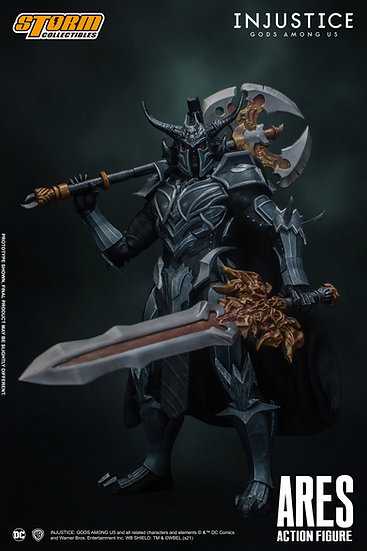"""Ares """"Injustice: Gods Among Us"""", Storm Collectibles 1/10"""