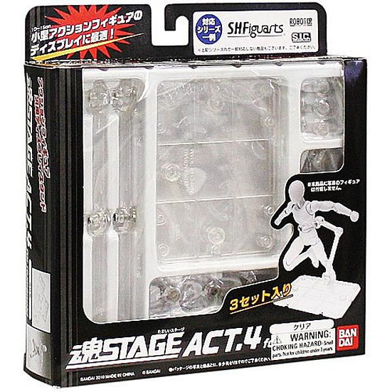 Tamashii Stage Act 4 Stand Pack x 3