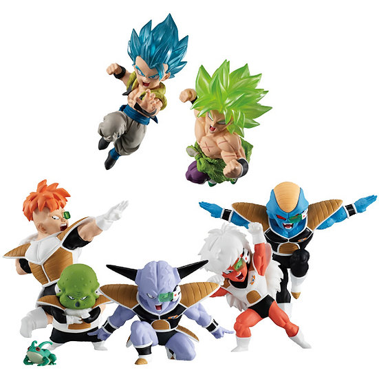 "Dragon Ball Adverge Motion 2 ""Dragon Ball Super"" (Box/10), Bandai Adverge"