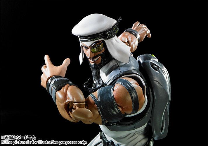 "Rashid ""Street Fighter V"" Bandai SH Figuarts"