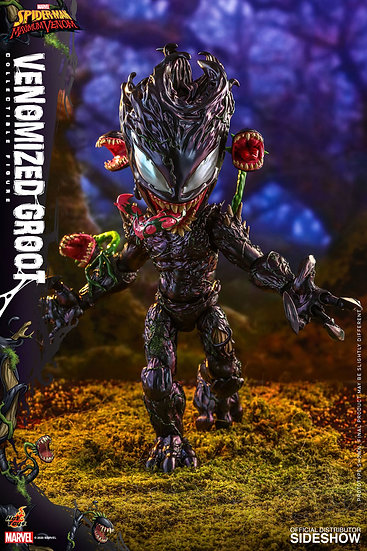 Venomized Groot by Hot Toys Television Masterpiece Series � Spider-Man: Maximum