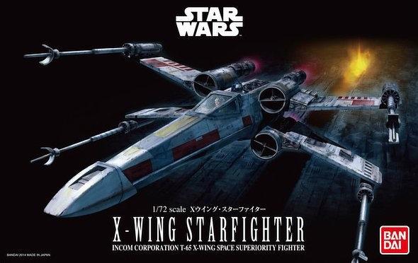 "X-Wing Star Fighter ""Star Wars"", Bandai Star Wars"