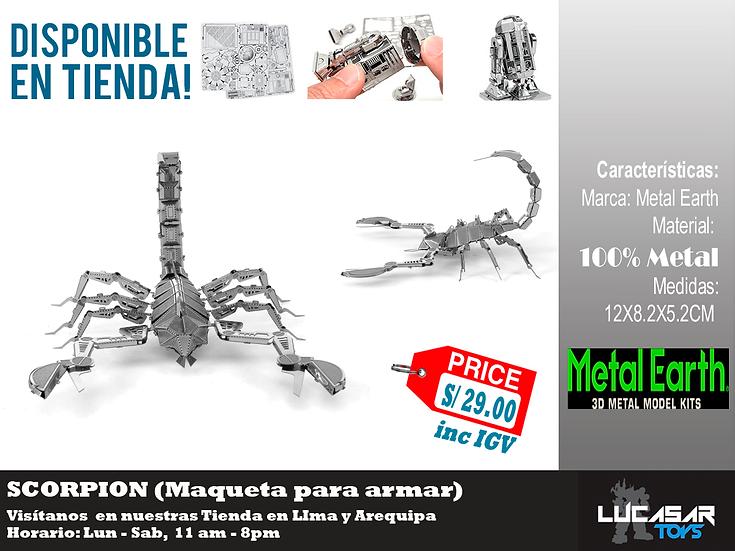 Escorpion Metal Earth