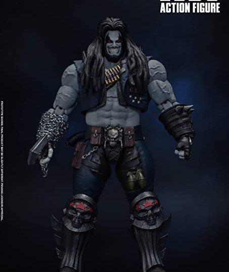 "Lobo ""Injustice: Gods Among Us"", Storm Collectibles 1/12"
