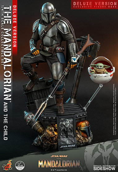 The Mandalorian� and The Child (Deluxe) Hot Toys The Mandalorian - Quarter Scale