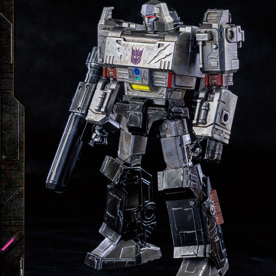 Megatron by Threezero DLX Transformers: War for Cybertron Trilogy