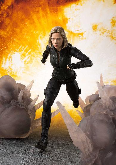 Black Widow & Effect Explosion SH Figuarts Avengers: Infinity War Bandai