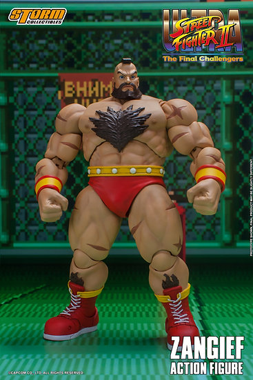 Zangief Street Fighter II The Final Challenger Storm Collectibles -Pre Orden
