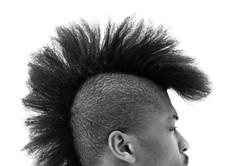 Hair Black Style
