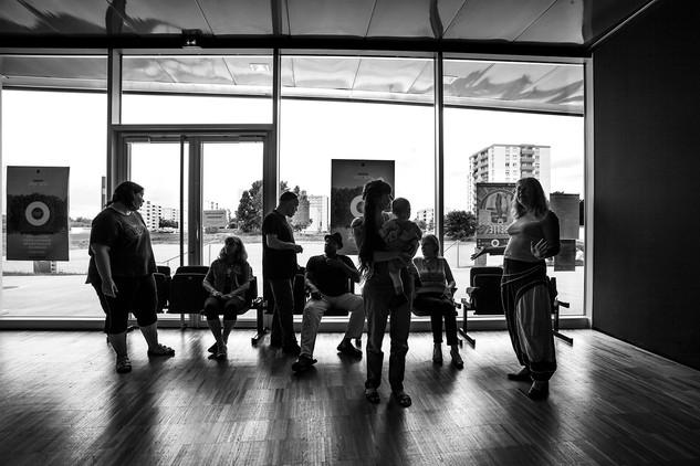 Commande institutionelle de la ville d'Ostwald pour la salle de spectacle du Point d'Eau. Reportage pour illustrer et communiquer sur la programmation de la saison 2016-2017