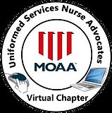 round logo for uniformed services nurse
