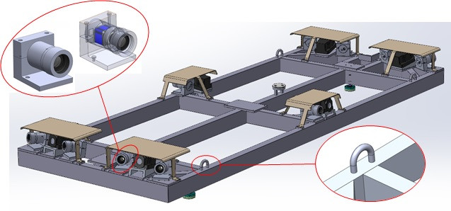 Vehicle design carring optical capabilities and navigation