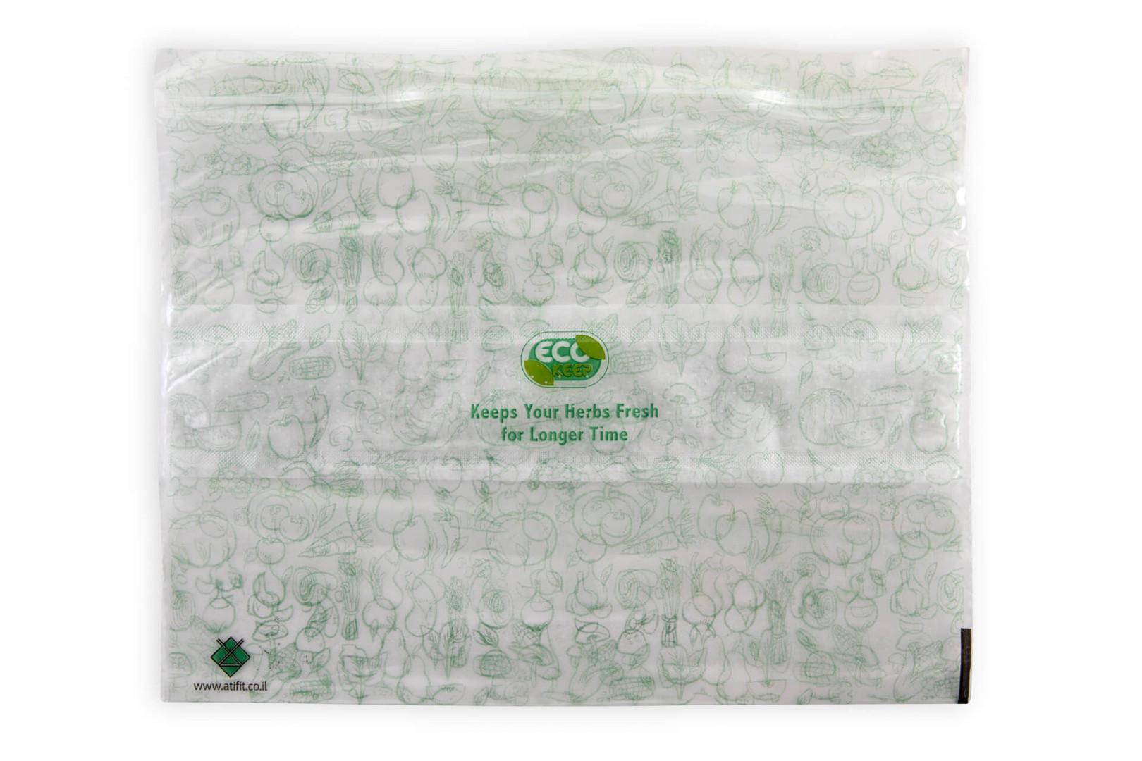 אקו קיפ - שקיות לשמירה על עשבי תבלין במק