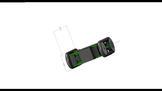 Micro Robot & sensors-This Robotic platform is so tiny that its electronic PCB is also its chassis