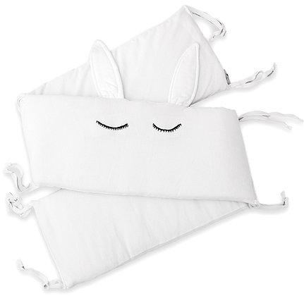 מגן ראש למיטת תינוק - ארנב שלג