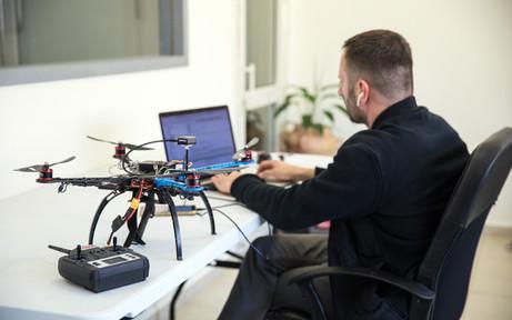 Autonomous Drones Development: Vision, Lidar, IMU and sensors