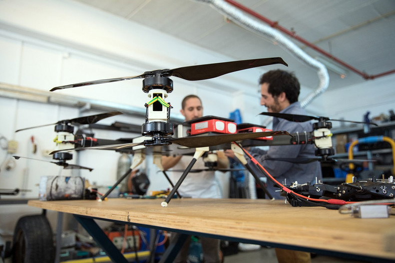 Hybrid Engines for Drones
