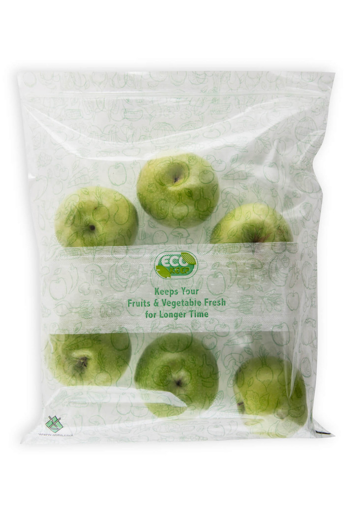 אקו קיפ - שקיות לשמירה על טריות פירות במ
