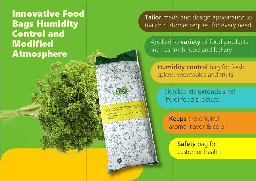 אקו קיפ - שקיות להארכת חיי מדף פירות ירק