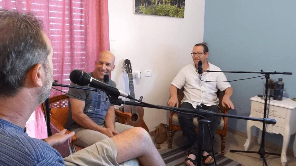 מסע הנשמה פרק 13 חלק רביעי פודקאסט המעלית - עם דני גולן, יניב אדרי ונורית אלדר