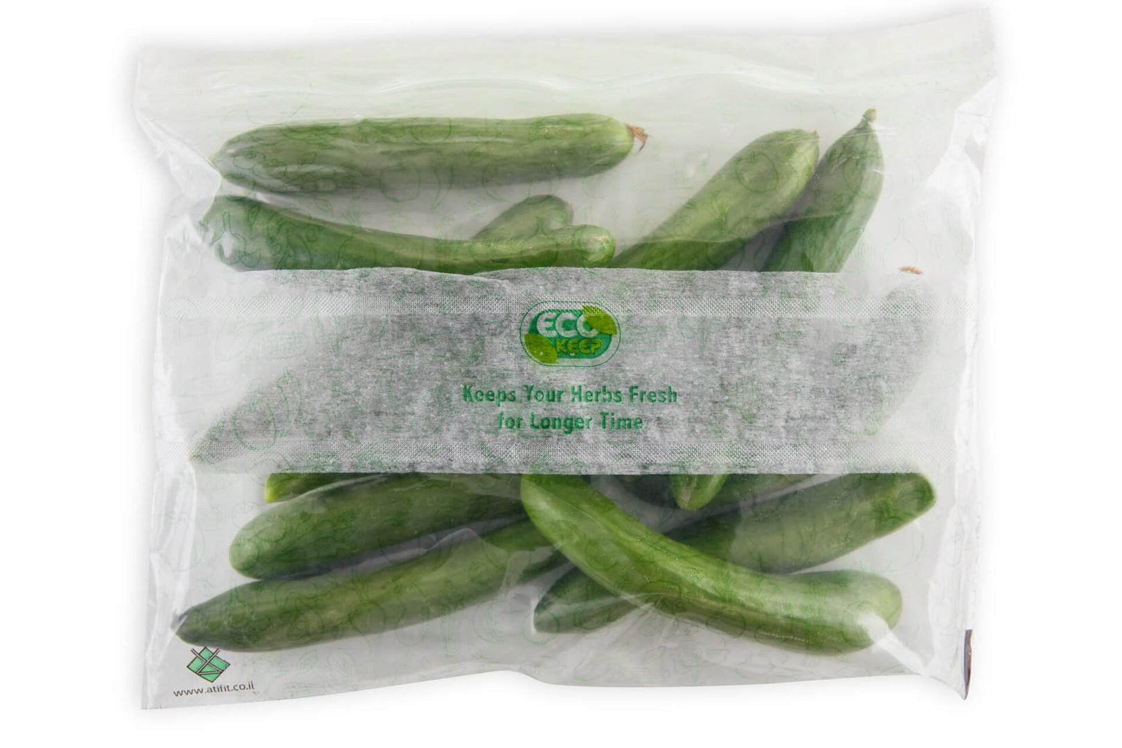 אקו קיפ - שקיות לשמירה על טריות ירקות במ