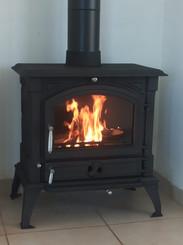 Q4 - תנור עצים סיני - אוגד חום