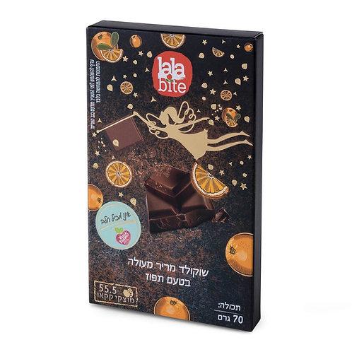 - שוקולד מריר מעולה בטעם תפוז lalabite תמונות חזית