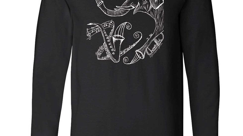 'Music Can Change the World' Design Longsleeve shirt
