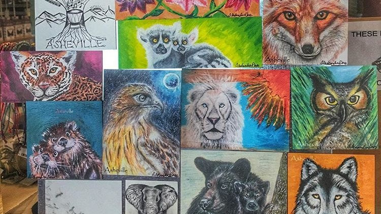 Wildlife Art Magnets
