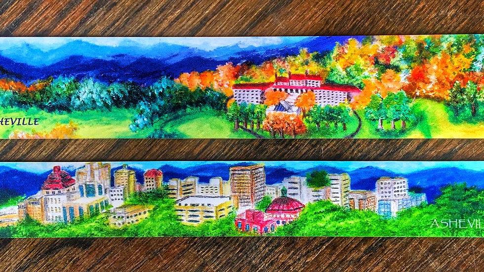 Asheville Landscape Paintings- Magnets
