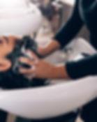 Lavado de cabello