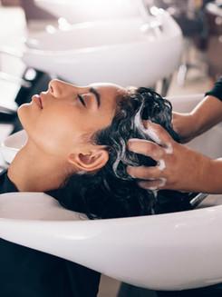 Lavagem de cabelo