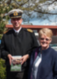 Capt (N) Luc Cassivi, former director, Submarine Force, with the author, April 2014