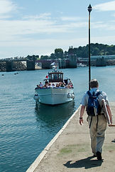 St-Malo-Dinard ferry, Brittany, France. © Photos by Pharos 2011