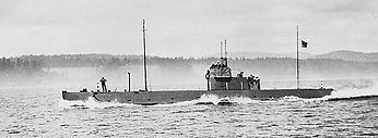 CC2 at sea, c. 1914. (DND)