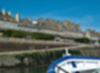 Approaching St-Malo on the Dinard ferry. © Photos by Pharos 2011