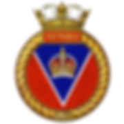 HMCS/M Victoria's ship's badge
