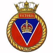 HMCS/M Victoria's ship's badge