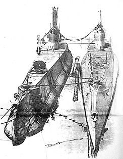 Canada's first submarines, CC1 and CC2  (c) National Archives
