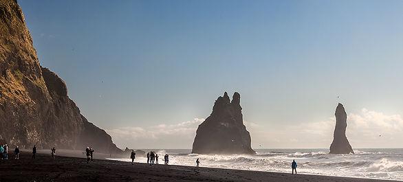Reynisfjara on Iceland's South Shore near Vik. © Photos by Pharos 2014