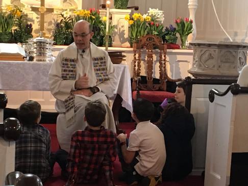 Easter Children's moment