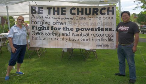 """Be the Church!"""
