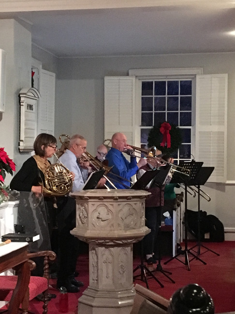 Christmas Eve guest musicians