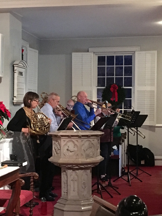 Christmas Eve guest musicians